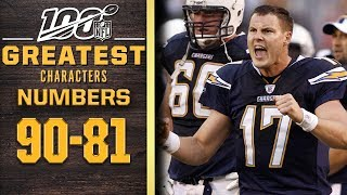 100 Greatest Characters: Numbers 90-81 | NFL 100