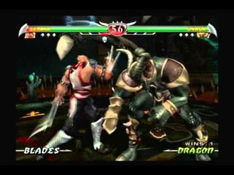 Mortal Kombat Deception Baraka Vs Onaga Hard Difficulty