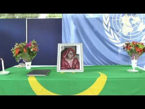 Cérémomie en mémoire de Salimata Bocar et de Maman Gondah