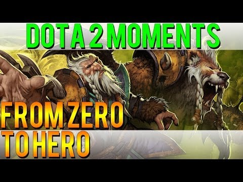 Dota 2 Moments - From Zero to Hero