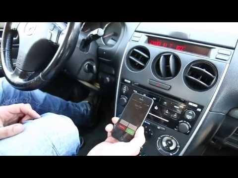 Mazda 6 2006-2008 Bluetooth Extension installation by GTA Car Kits