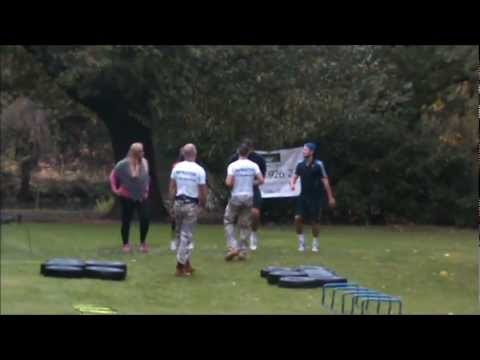 TOWIE BOOTCAMP!! MARK, ARG, JESSICA AND GEMMA. BEHIND THE SCENES!! Round 1