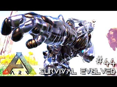 ARK: SURVIVAL EVOLVED - NEW BIONIC ROCK ELEMENTAL & MANTIS !!! E44 (MODDED ARK CENTER GAMEPLAY)