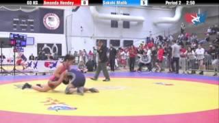 WM 60 KG - Amanda Hendey vs. Sakshi Malik