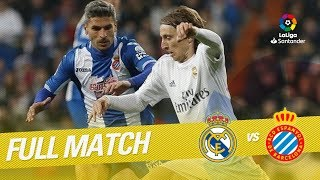 Full Match Real Madrid vs RCD Espanyol LaLiga 2015/2016