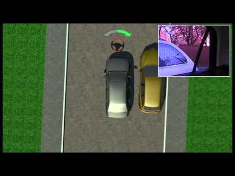 Уроки параллельной парковки - видео