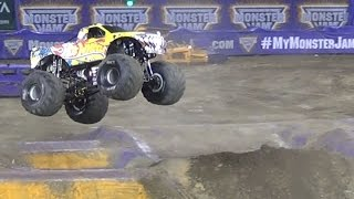 Monster Jam Hot Wheels Firestorm Anaheim, CA January 24, 2015