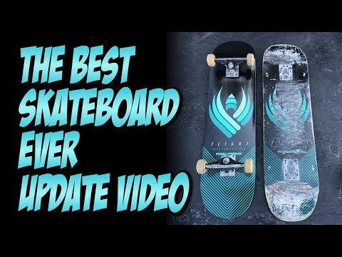 BEST SKATEBOARD EVER UPDATE VIDEO !!! POWELL FLIGHT BOARDS   NKA VIDS