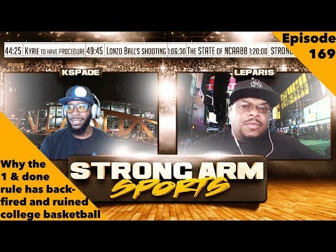 This Years Upsets Are BAD For NCAABB | Strong Arm Sports Podcast Ep169