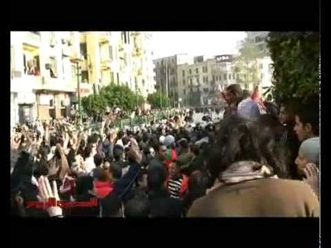 Egypt's Protests Day of Anger Riots 25 Jan 2011 Demonstrations Rare Raw Footage