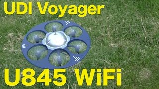 Cheerwing UDI Voyager WiFi HD Drone (U845 WiFi) Review