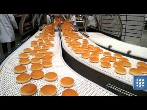 Jak produkują bułki do burgerów z McDonald'a ?