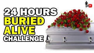 Spending 24 Hours in a Coffin *INTENSE*