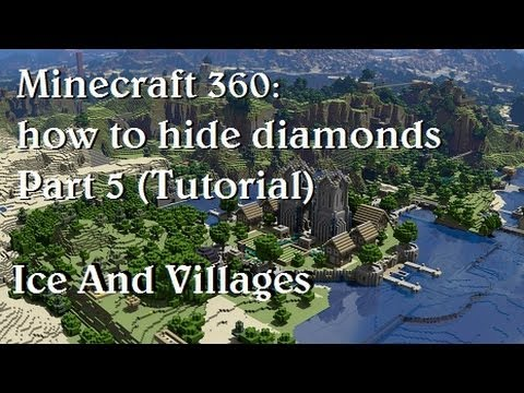 Minecraft xbox 360: Tips and tricks on how to hide diamonds Part 5 (Tutorial)