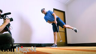 Jordan Spieth Tries To Hit a 90 Foot Putt While Taking a Pop Quiz | Golf Assassins | Golf Digest