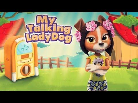 Моя Говорящая Собака Ася на Андроид   Скачать игру бесплатно