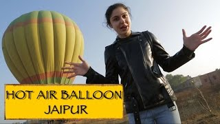 Hot Air Balloon Ride || Jaipur