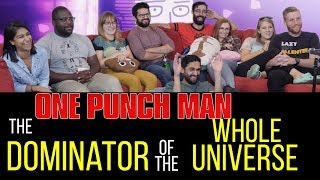 One Punch Man - 1x11 The Dominator of the Universe - Group Reaction