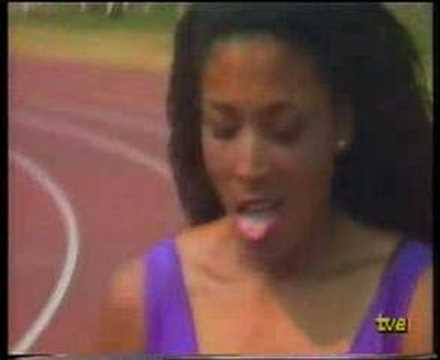 Florence Griffith-Joyner 10.49 RM Indianápolis 16-jul-1988