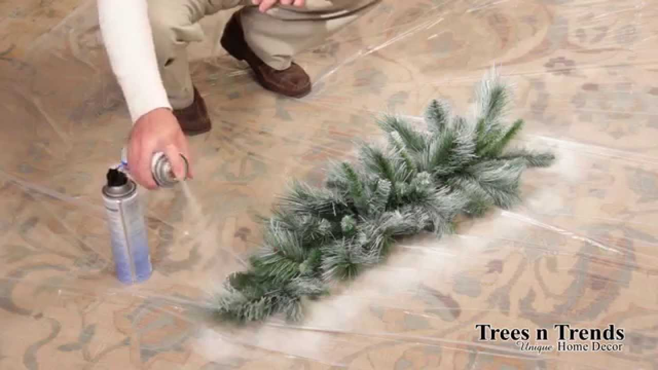 What Spray Paint Can You Use On Artificial Christmas Trees