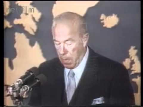 Meeting Eduard Shevardnadze - George Shultz, Shimon Peres. USA