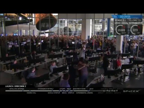 SpaceX: ORBCOMM 2 | First Successful Falcon 9 Landing (12.22.15)