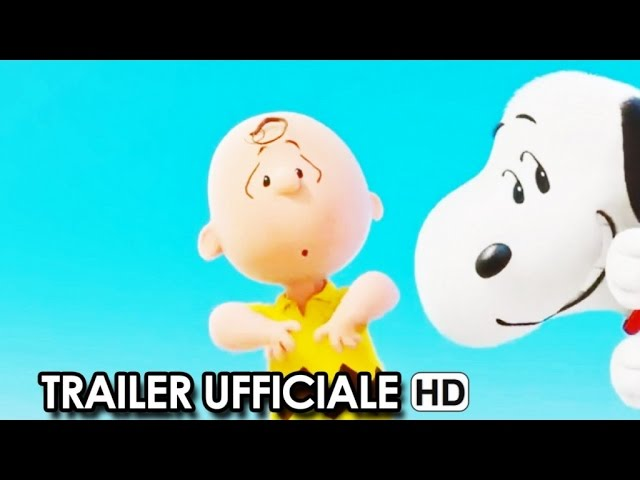 SNOOPY & FRIENDS - IL FILM DEI PEANUTS Trailer Ufficiale Italiano (2015) HD