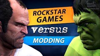 Rockstar Games & Take-Two versus Modding