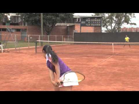 LINA HERNANDEZ TENNIS PLAYER COLOMBIA