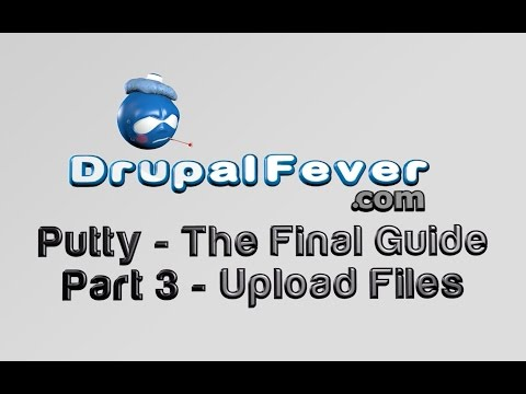 Putty - The Final Guide - Part 3 - Uploading & Downloading files with Putty
