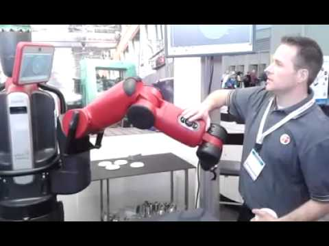 Rethink Robotics Demos Baxter Robot at BIOMEDevice Boston 2013