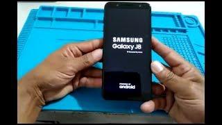 Hard reset Samsung Galaxy J8 desbloquear formatar remover bugs do sistema