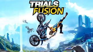 Trials Fusion - Awesome Custom Track - Total Wipeout
