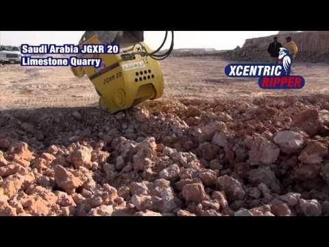 Saudi Arabia JGXR 20 Limestone Quarry