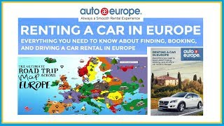 FREE Guide to Renting a Car in Europe