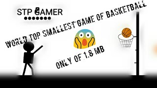 Basketball World smallest and good game