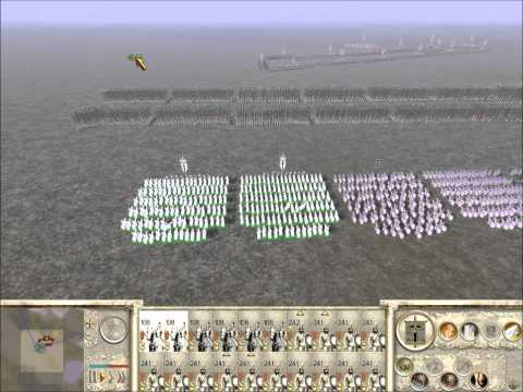Rome Total War Online Battle #1968: Prince_of_Macedon vs The_Prince_ofMacedon (Live-Commentary)
