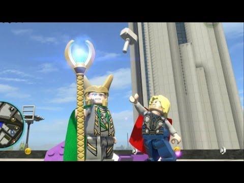 LEGO Marvel Super Heroes (PS4) - Loki Free Roam Gameplay