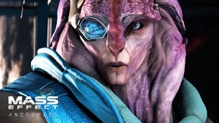 Mass Effect Andromeda Jaal's Loyalty Mission (PS4 PRO) Gameplay Walkthrough 1080p HD