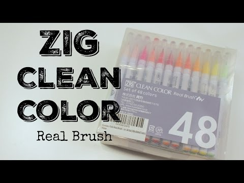 Zig Clean Color Real Brush Review