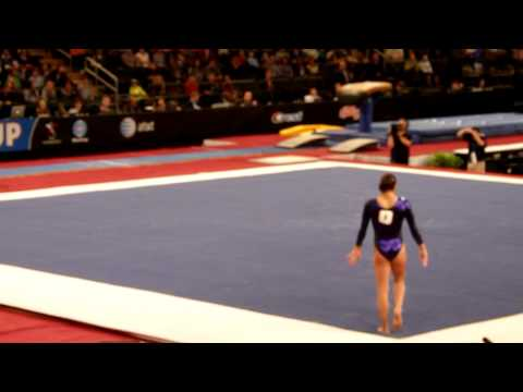 Jordan Wieber AT&T American cup 2012 !st place