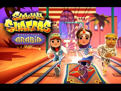 🇸🇦 Subway Surfers World Tour 2016 - Arabia (Official Trailer)