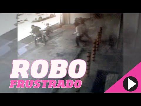 Captan en video robo frustrado en casa de empeño de Cuernavaca, Morelos