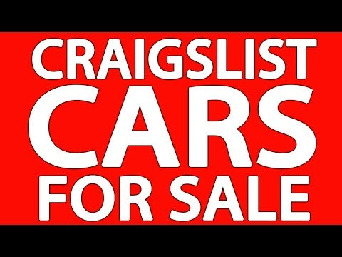 Car for sale craigslist by owner videos