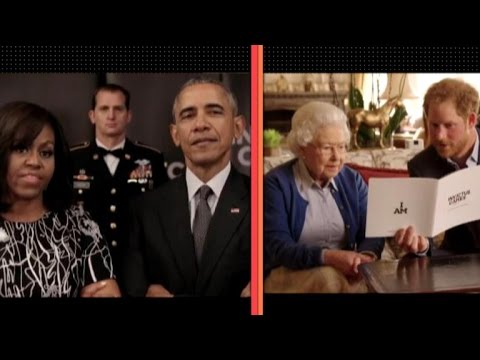 The Obamas Wage Friendly War Against Prince Harry and Queen Elizabeth: Watch!