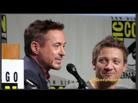 The Avengers Age of Ultron Cast FULL PANEL rocks Comic-Con 2014 Hall H Marvel Panel
