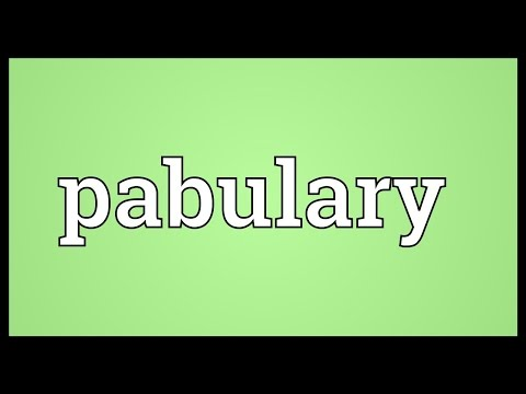 Header of pabulary