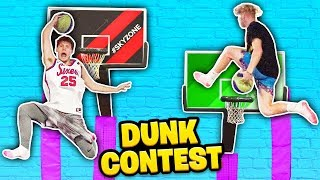 GREATEST TRAMPOLINE DUNK CONTEST OF ALL TIME!