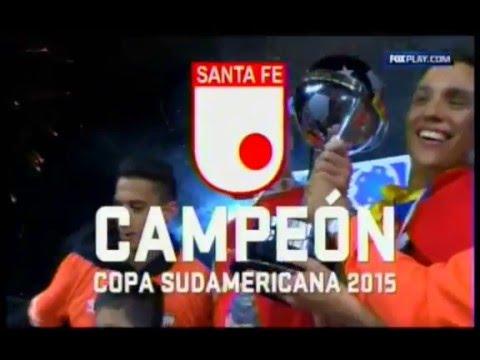 Independiente Santa Fe Campeón de Sudamerica 2015 especial Fox Radio Colombia