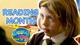 Woolly and Tig - Reading Month | Going to School | Kids TV Show | Toy Spider